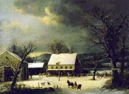 Winter At Jones Inn, Nine Miles To Hartford