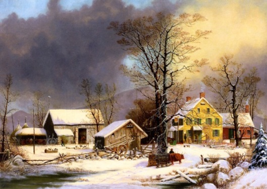 Winter In The Country, A Cold Morning