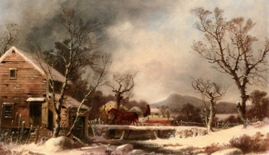 Winter, The Old Mill