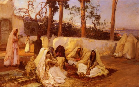 Women At The Cemetery, Algiers