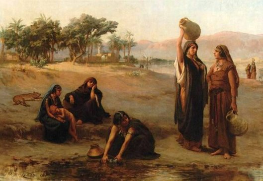 Women Drawing Water From The Nile