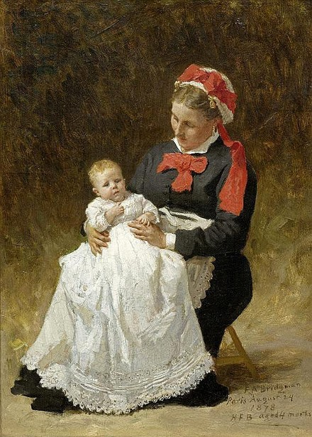 Young Woman With Child