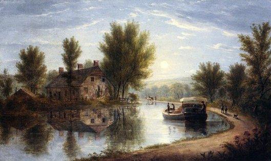 Canal Scene, Susquehanna River
