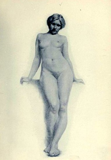 Female Figure From Life