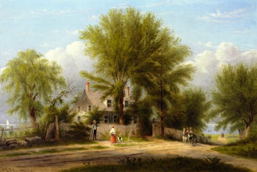 Hapelyea House, A Long Island Homestead