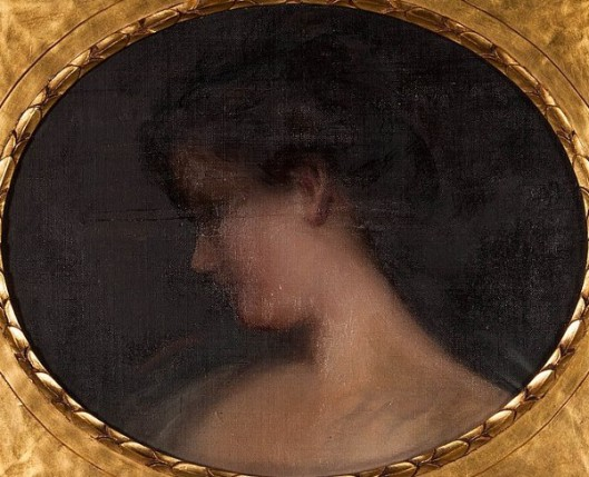 Head Of A Lady In Profile