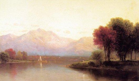Inlet On Lake George