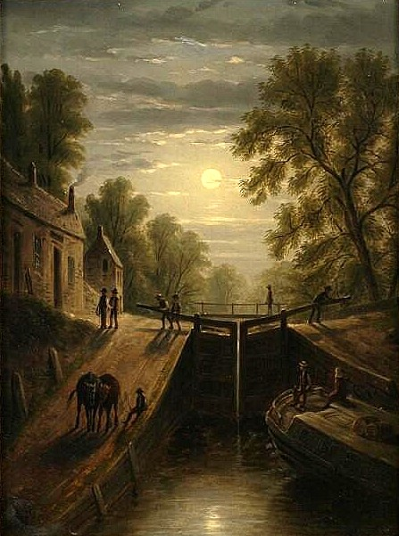 Moonlight On The Locks