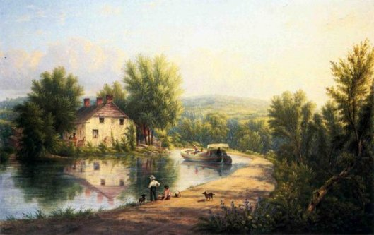 On The Rondout Canal, Rosendale