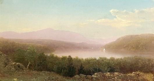 Sailing In The Adirondacks