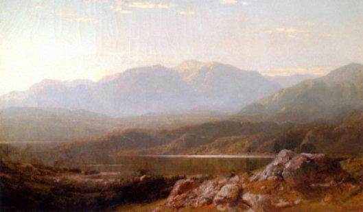 View On A Lake