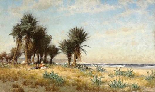 A Moroccan Coastal Scene