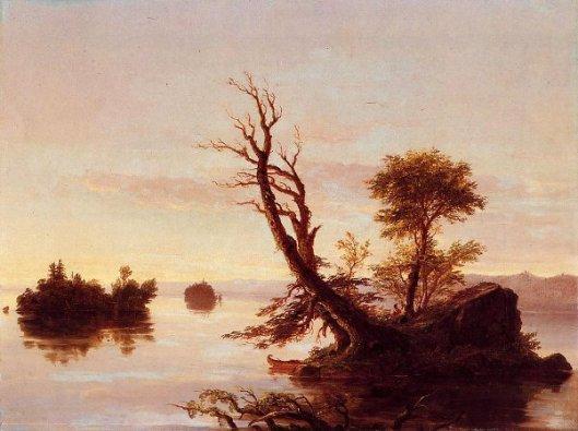 American Lake Scene