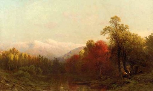 Autumn In The White Mountains Near Jefferson