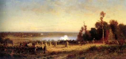 Cannonading On The Potomac, October 1861