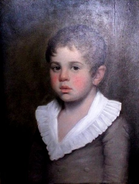 Cephas Giovanni Thompson, The Artist's Son, Age 6