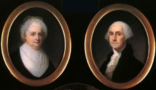 George Washington and Martha Washington