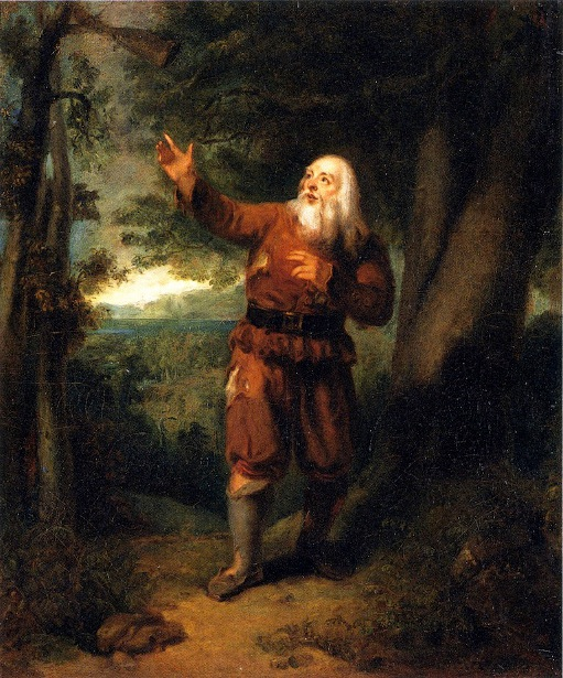 James Henry Hackett as Rip Van Winkle