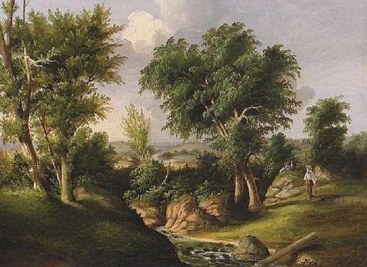 Landscape With Figure