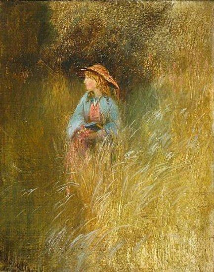 Marion Colman In The Granby Meadows