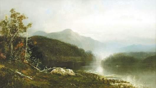 Morning Mist, Lake George