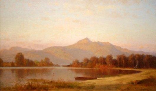 Mount Chocorua And Chocorua Lake