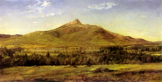 Mount Chocorua And Lake From Tamworth