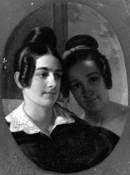 Mrs. Beale Thayer And Miss Sarah Blanchard