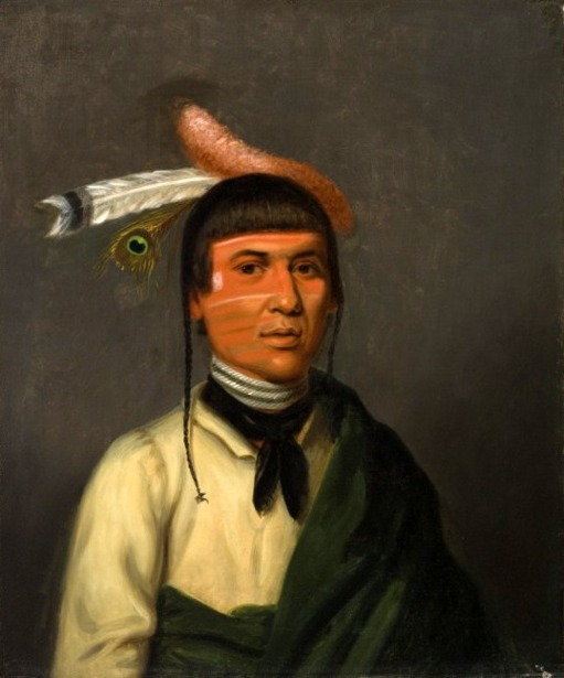 No-Tin (Wind), A Chippewa Chief