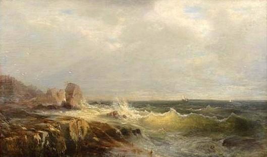 Rocky Coastal Scene