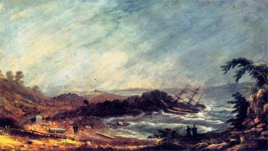 Shipwreck At Pond Cove, Cape Elizabeth
