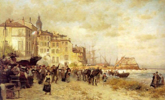 Shoreside Scene