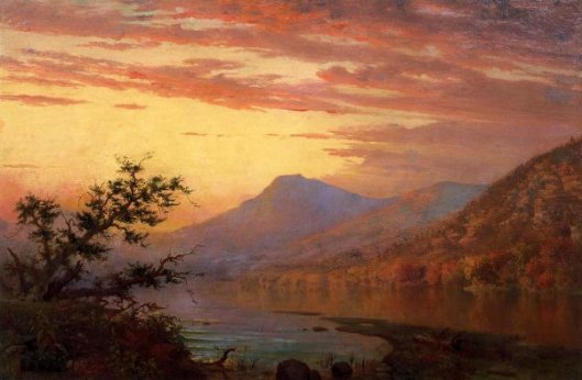 Sunset, Adirondack Lake
