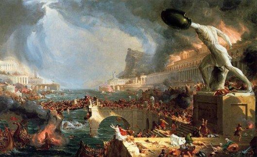 The Course Of Empire 4 - Destruction