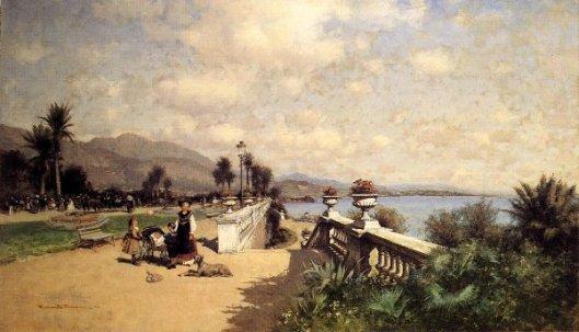 The Garden At Monte Carlo