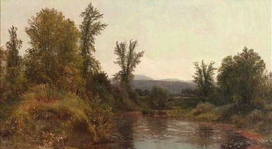 The Housatonic River At Great Barrington