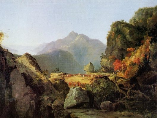 The Last Of The Mohicans - Landscape Scene