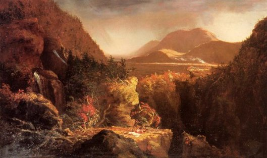 The Last Of The Mohicans - Landscape With Figures