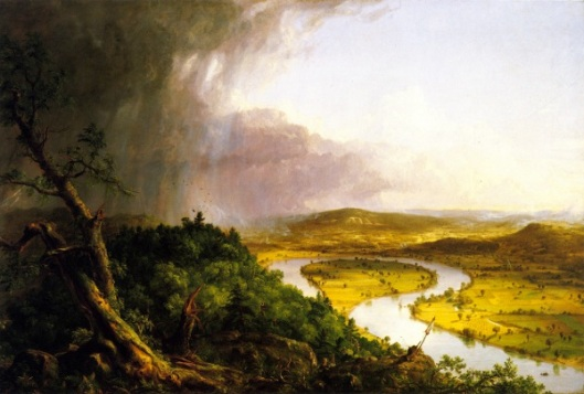 The Oxbow - The Connecticut River Near Northampton