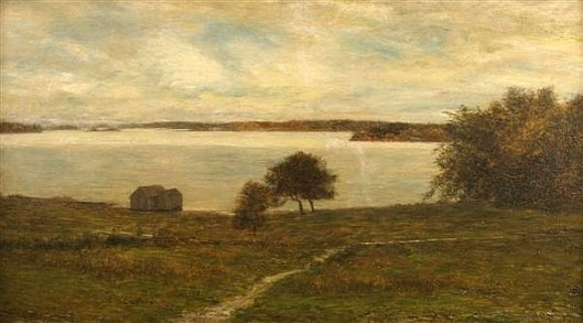 The Saint Lawrence River At Gananoque