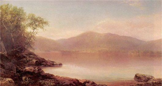 View Of Lake George From Long Island