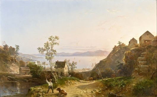 A View Of Peekskill
