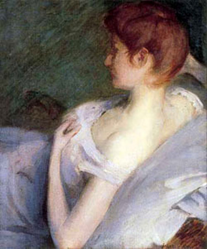 A Young Lady In Repose