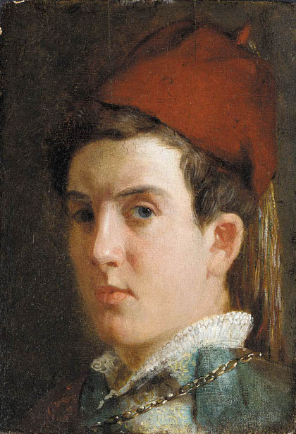 A Youth (Self-Portrait)