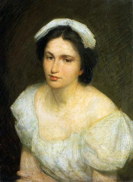 An Alsatian Girl