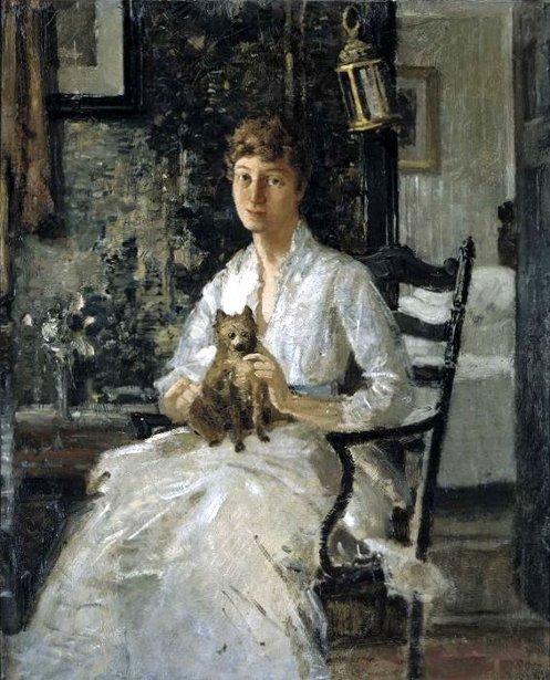 Anna Baker Weir - Lady With A Dog