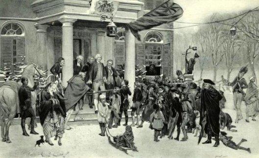 Boston Boys And General Thomas Gage