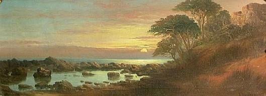 Coastal Cliffs At Sunset