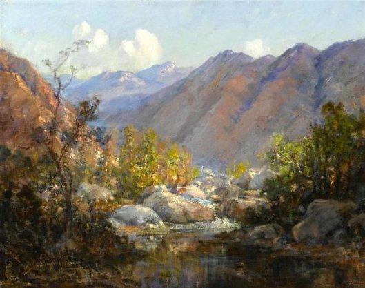 Creek Scene, Matilija Hot Springs