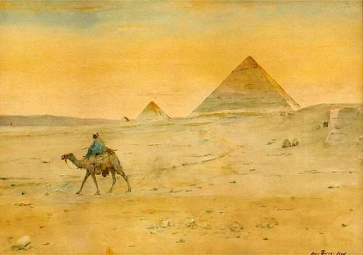 Egyptian Pyramids Landscape